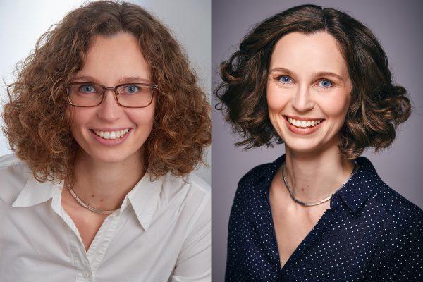 VORHER NACHHER Claudia Wötzel Businessshoot
