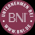 Ich bin Mitglied bei BNI